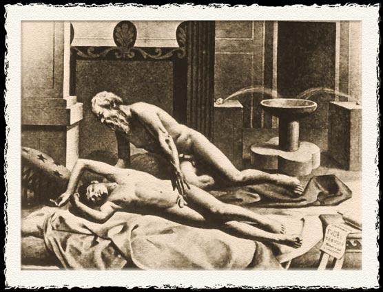 socratic love from de figuris veneris by friedrich karl forberg