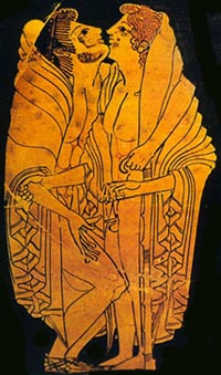 Gay Art - Ancient Greek art depicting homosexual cutoms - The World History ...
