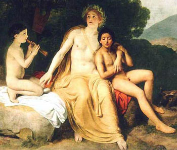 Gay Greek Mythology - Apollo and Cyparissus - The World History of Male Love